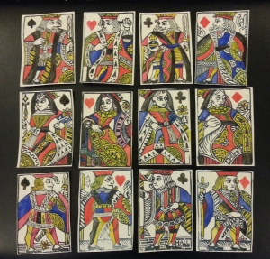 Late 16th century style playing cards