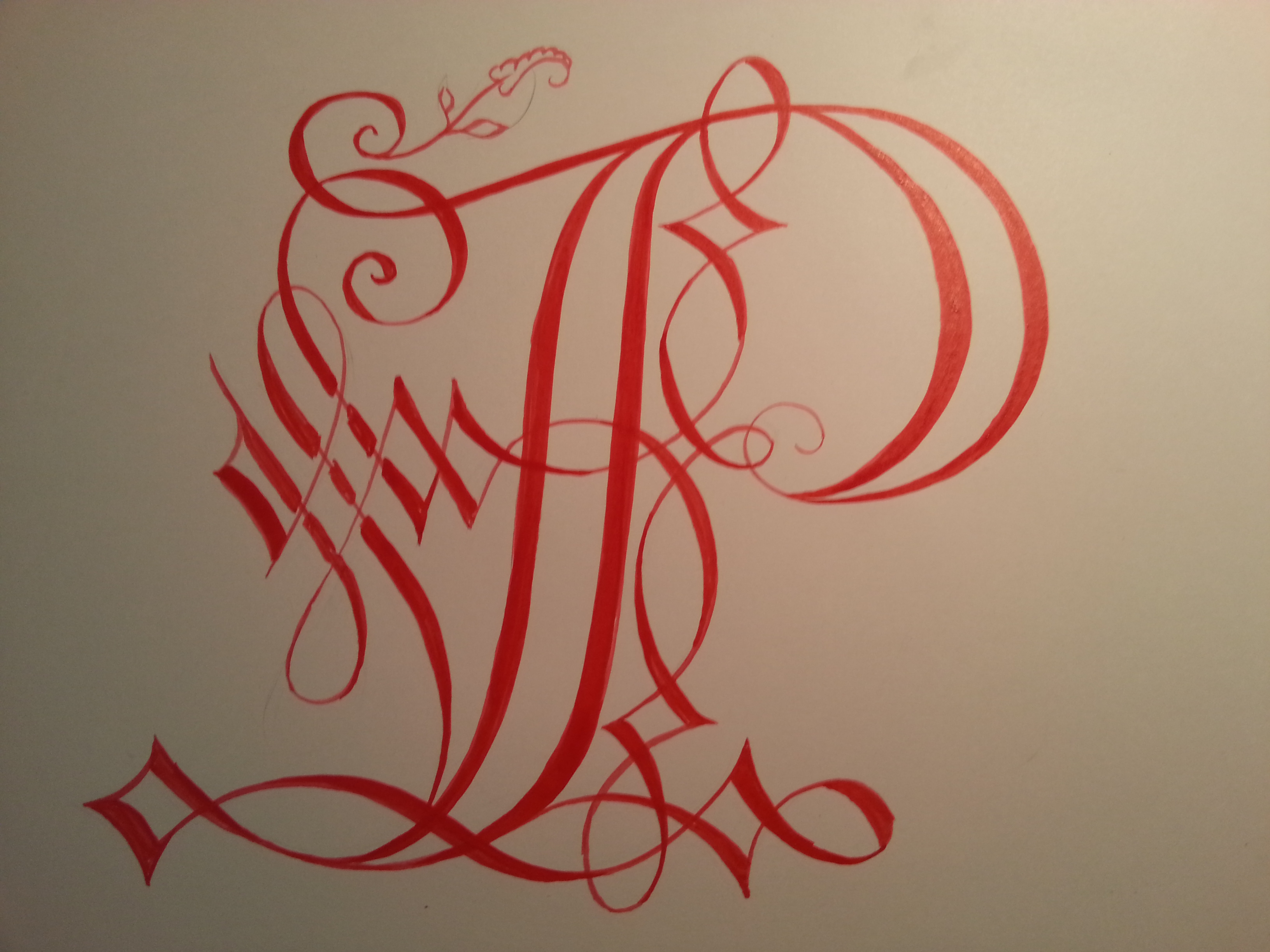 Calligraphy Cadel In Step By Step Photos Lady Heather Hall